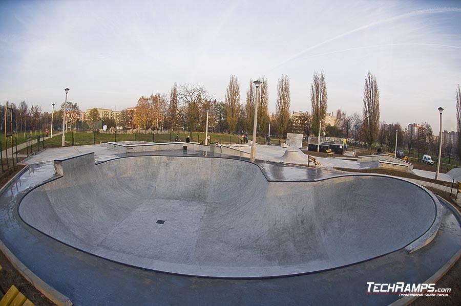 Bowl Kraków - torkretowanie