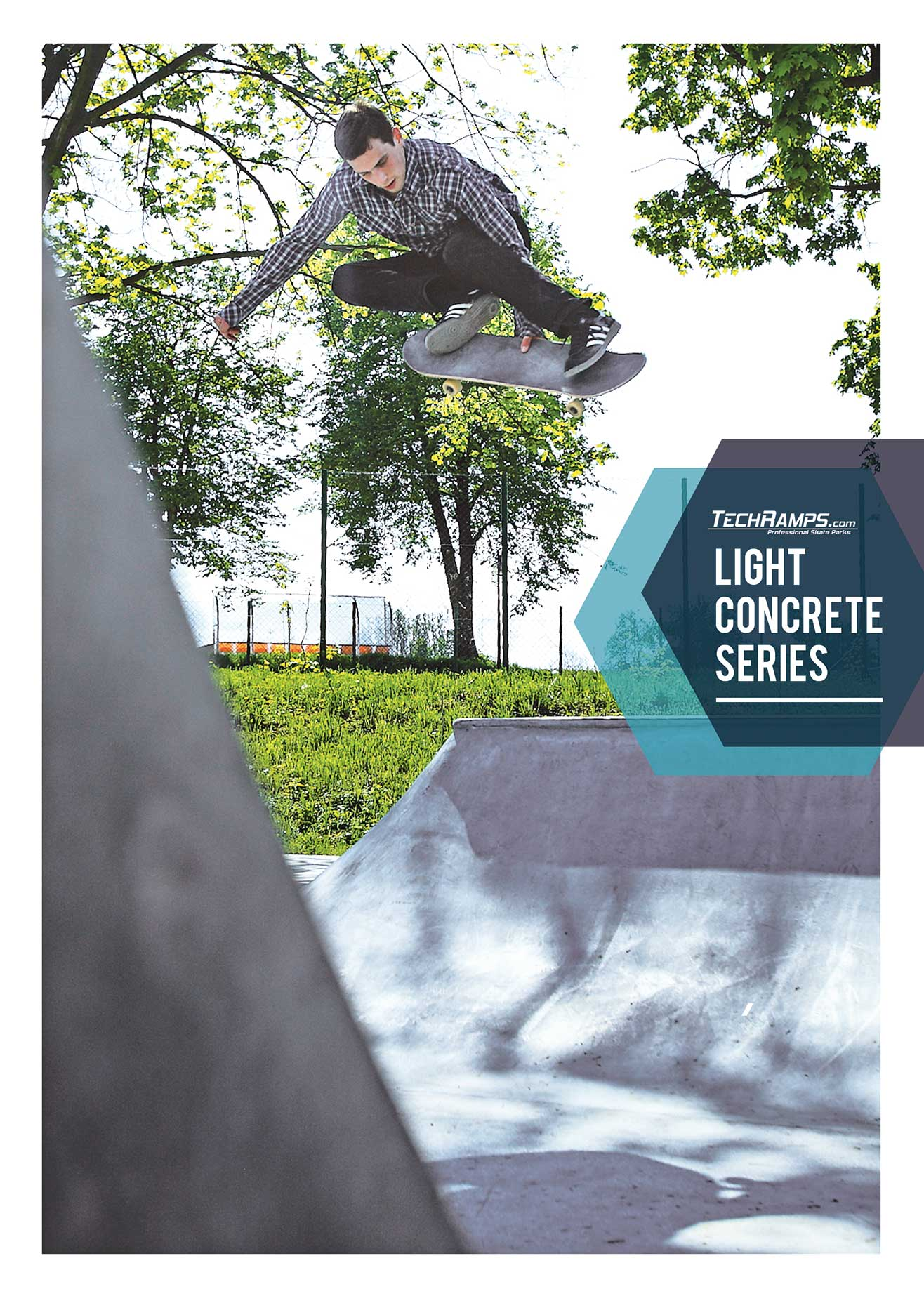Technologia Light Concrete Techramps