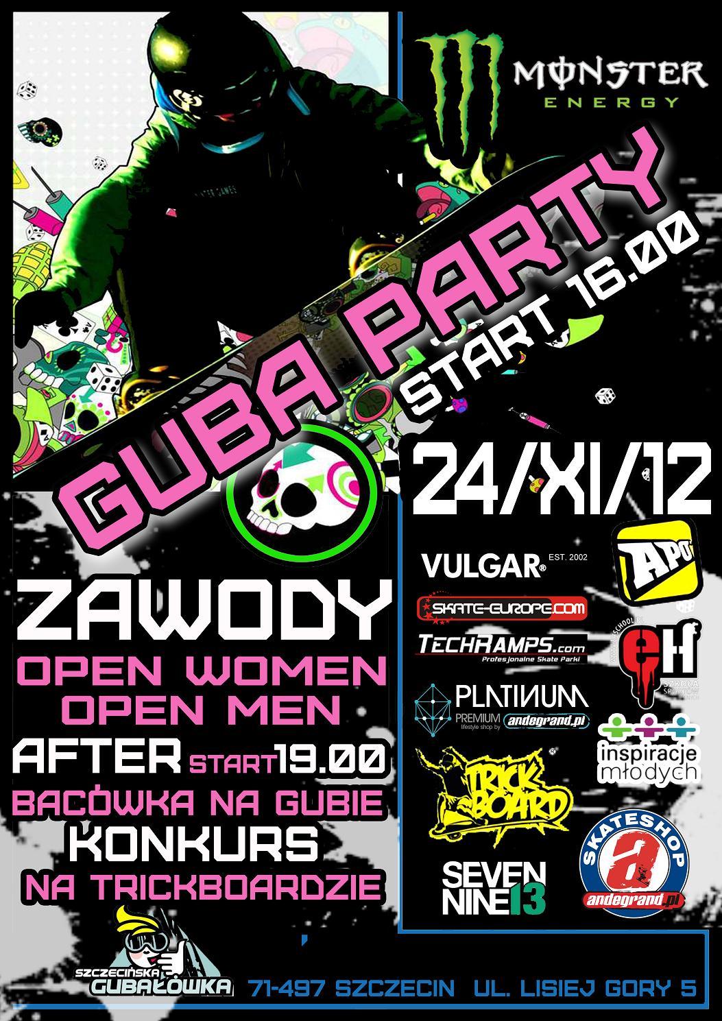 Guba Party - Zawody Snowboard