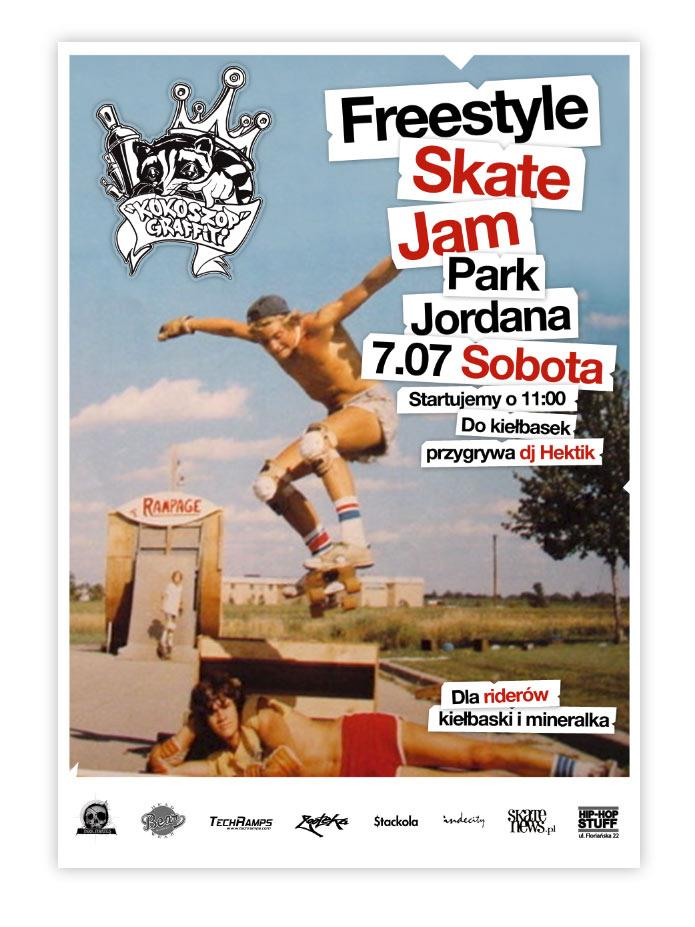 Freestyle Skate Jam - Park Jordana 2012