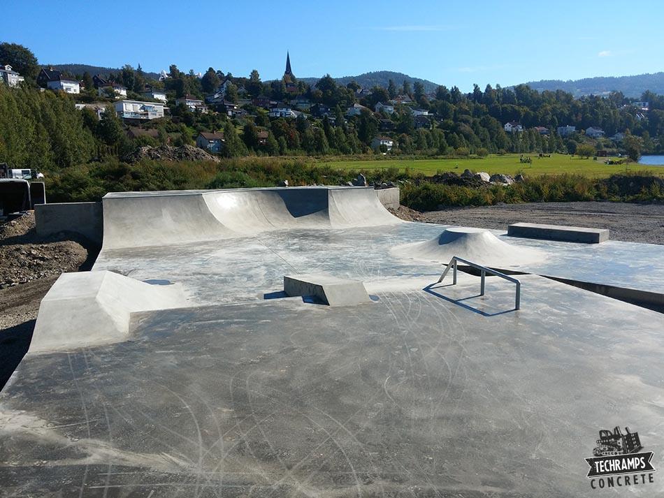 Betong skatepark i Norge