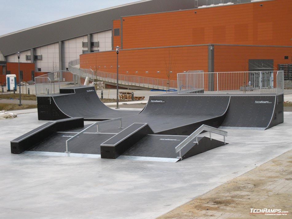 Skatepark Szczecin - Grindbox