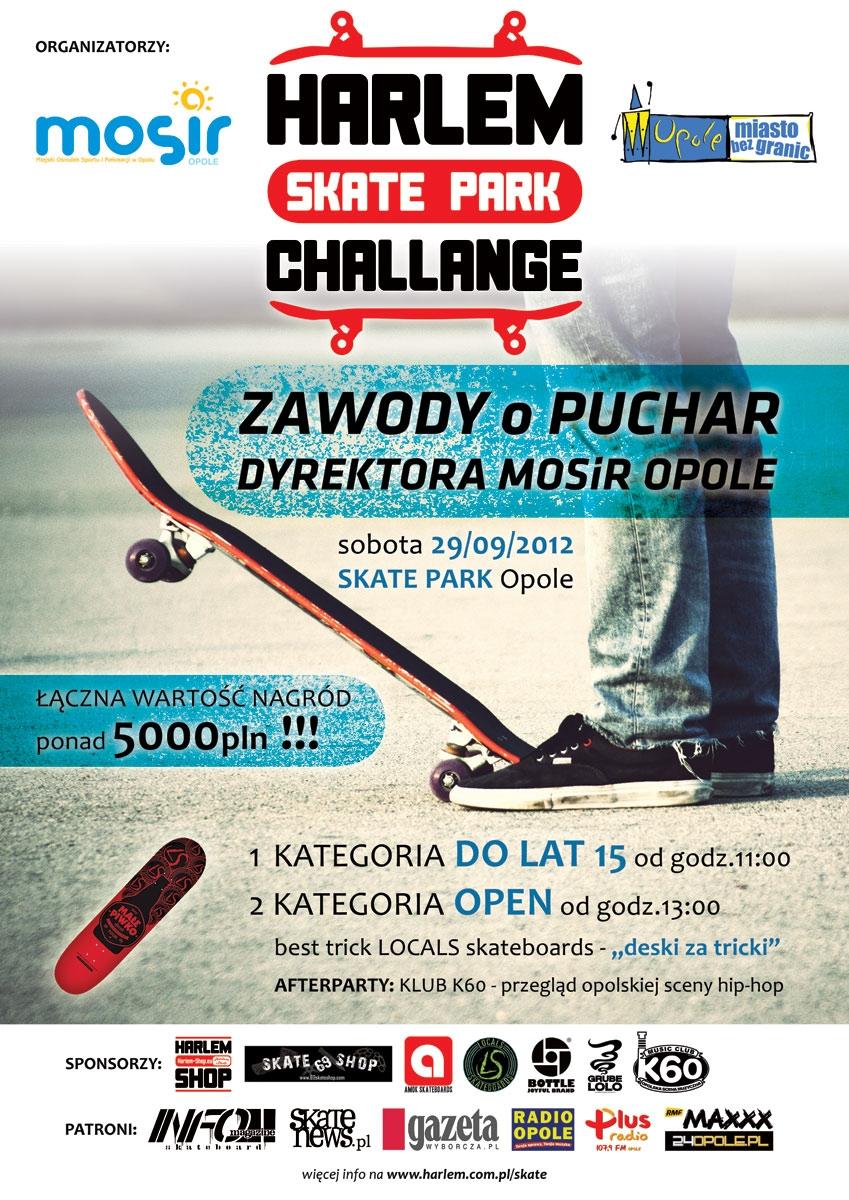 Harlem Skatepark Challenge Opole