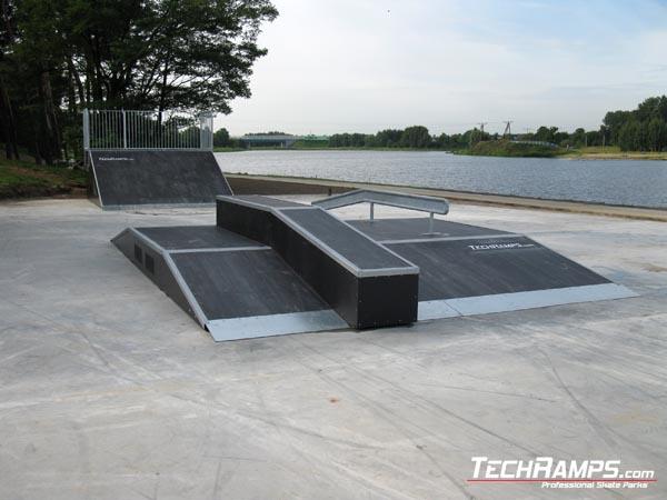 Скейтпарк в Strykow