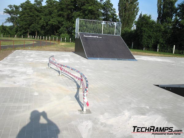 Скейтпарк в Wschowa