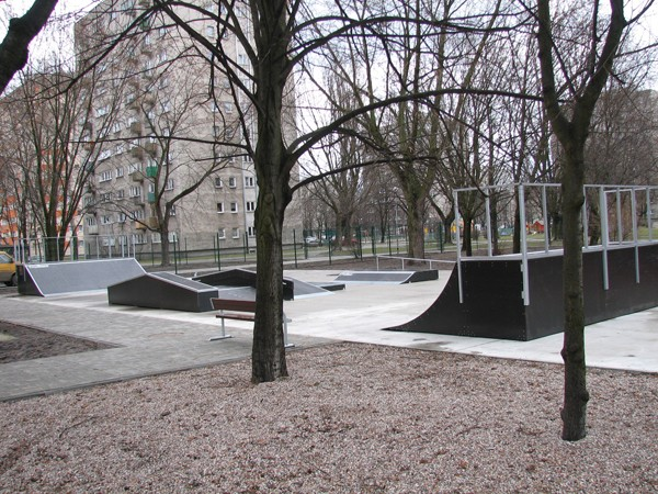 Скејтпарк во Варшава - Bielany