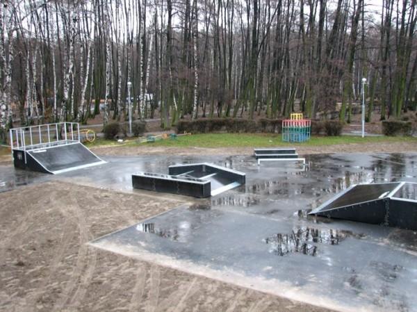 Скејтпарк во Зѓешовице
