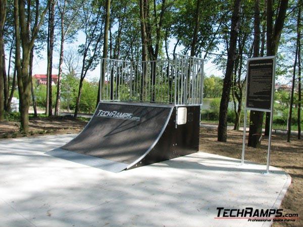 Скејтпарк во Казимежа Велка