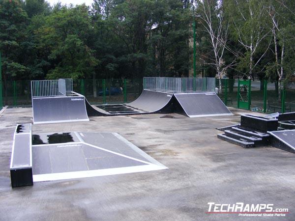 Скејтпарк во Криви Рог - Украина