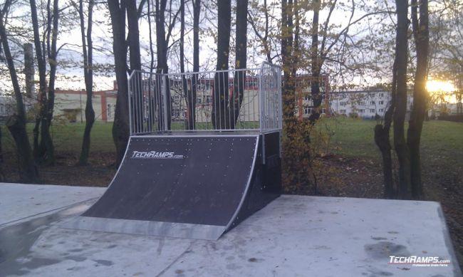 Скејтпарк во Олешице