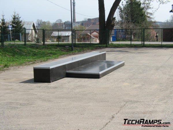 Скејтпарк во Прабути