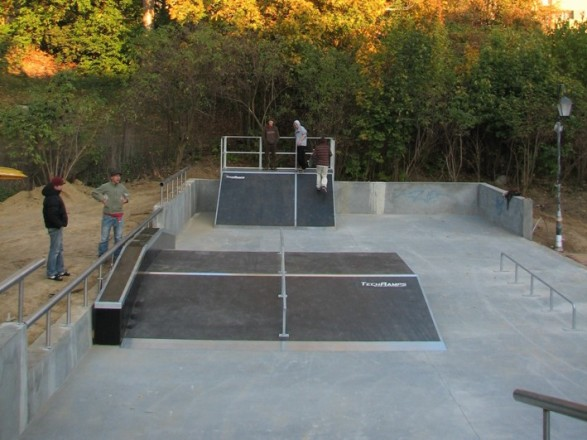 Скејтпарк во Сандомјеж