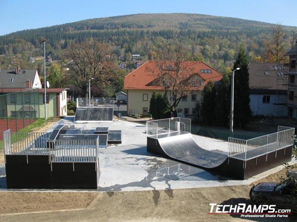 Скејтпарк во Swieradow Zdroj