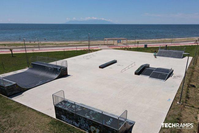Alexandroupolis Skatepark (grécky)