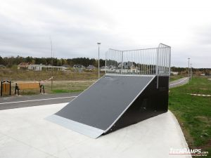 Bank ramp in Bilcza