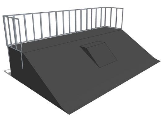 Bank ramp + mini quarter