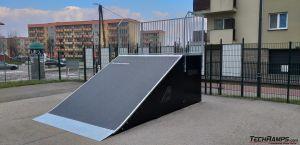 Bank ramp prestiż - skatepark Warka