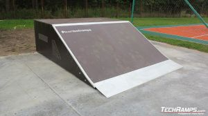 Bank ramp skatepark Grudziądz