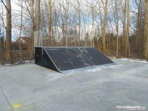 Bank Ramp w skateparku w Bemowie