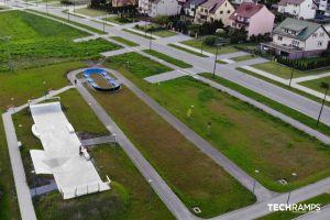 Betónový skatepark Chęciny