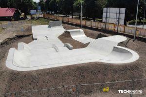Betónový skatepark Techramps