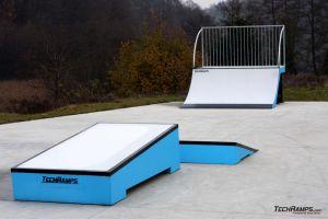 Betonowa skateplaza