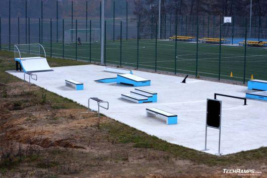 Betonowe skateparki i skateplazy z prefabrykatów