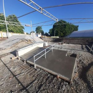 Betonowy skatepark Pleszew