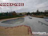 Betonowy skatepark Turośń Kościelna w Teleexpressie