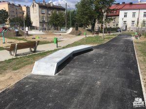 betonowy skatepark w przemyślu - rozbudowa