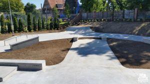 Betonowy skatepark Żagań