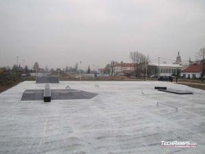 Białobrzegi koło Łańcuta Skateprk
