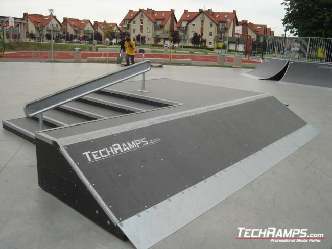 Скејтпарк во Bielany Wroclawskie