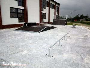 Brand new skatepark in Rychtal