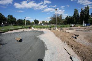 Budowa skateplazy w Mistrzejowicach - Kraków
