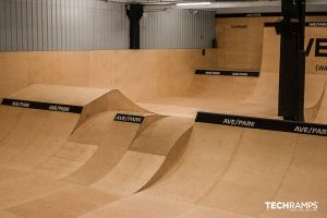Całoroczny skatepark Techramps