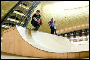 chorzów skatepark minirampa