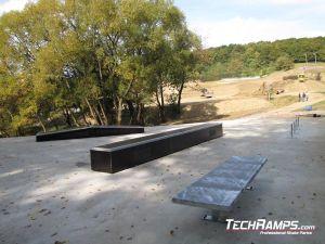 Cieszyn Skatepark panorama