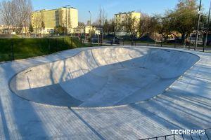 Concrete bowl in Opole