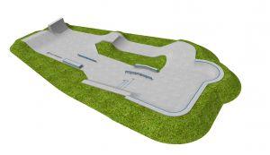 Concrete skatepark Pleszew
