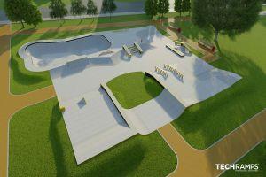 Concrete skatepark Wrocław