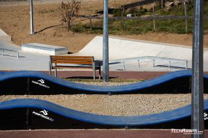 Cycle track - pumptrack in Maniowy