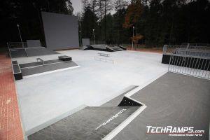 Dąbrowa górnicza Skatepark panorama
