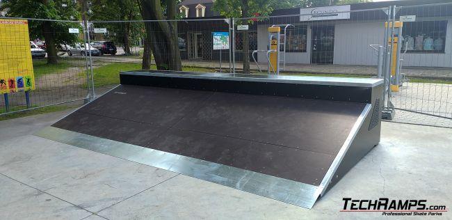 Dostawa elementów skateparku Brzeszcze
