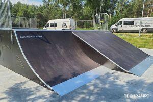 Drevený skatepark Techramps