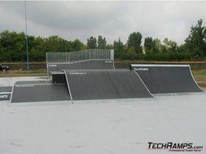Drugi skatepark w Łodzi