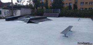 Elementy skateparku Iłowa
