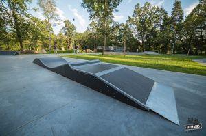 Fala w Rabce zdroju - skatepark