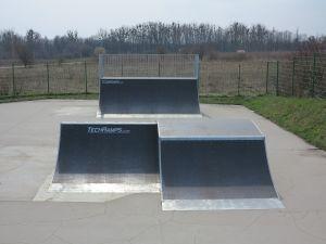 Funbox do skoków - TG skatepark