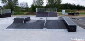 Funbox - skatepark Międzyrzec Podlaski